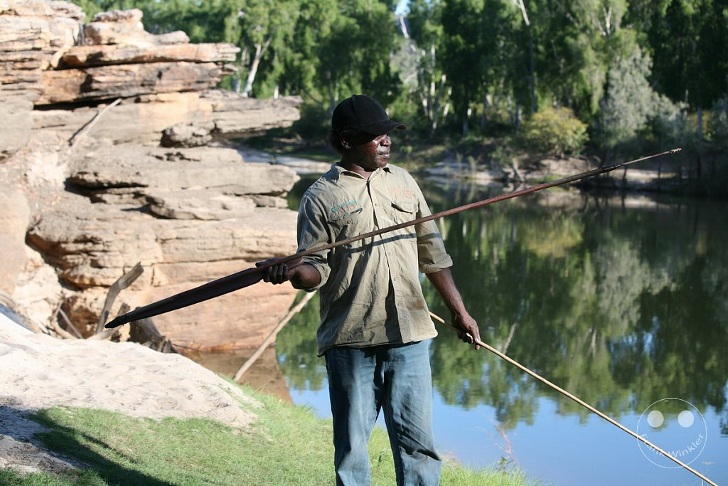 Aborigine Speere - Northern Territory - Kakadu National Park