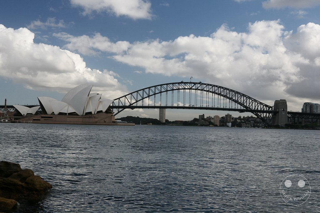 Sydney Harbour Bridge und Oper - Botanischer Garten - New South Wales