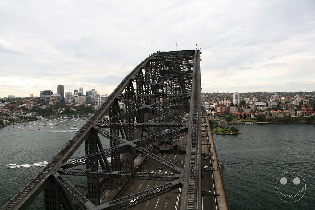 Sydney - Harbour Bridge Klettertour - Pylon Lookout - New South Wales