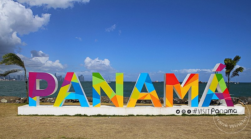 Panama City - Panamaschild