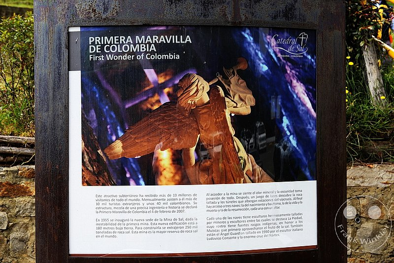 Kolumbien - Zipaquira - Catedral de Sal