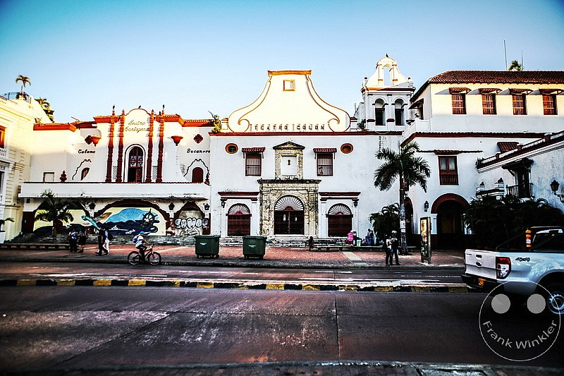 Kolumbien - Cartagena - Teatro Colon - Hafen